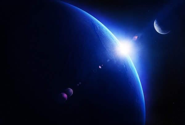 La divina providencia revelada por el sol, la luna y las estrellas